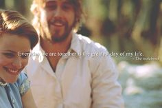 The Notebook..my fave! #love #happiness #perfect