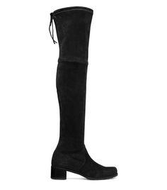 Stuart Weitzman  MIDLAND BOOT    in Suede  Over-The-Knee Boots