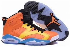 buy popular b77f1 11fde Authentic Cheap Air Jordan 6 Cool yellow-orange Authentic Cheap Air Jordan  retro 6 outlet nike clearance shoe for sale