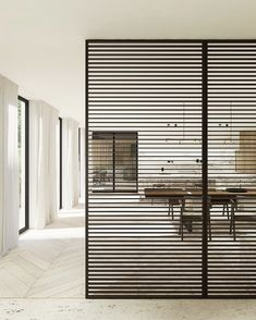 Working on a new exciting project: interior design for the 'total make-over' of a grand mansion near Antwerp. Another great collab with Office Wall Design, Grill Door Design, Wooden Screen, Modern House Plans, Home Interior Design, Home And Living, Furniture Design, Mansions, Architecture