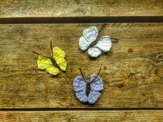 Gebreid vlindertje