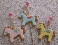Biscoitos decorados Carrossel by Vanilla Art Cookies