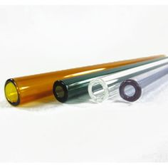 Reusable Glass Drinking Straws - Straight