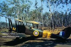 RAAF Tigermoth somewhere in the top-end of Australia.