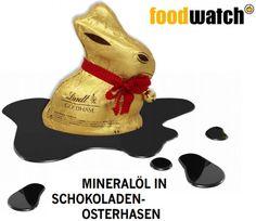 Cuidado con los conejitos de chocolate para Pascua