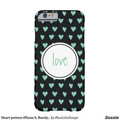 Heart pattern iPhone 6, Barely There Barely There iPhone 6 Case