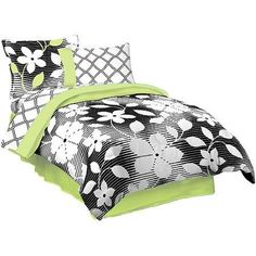 Studio 25 Flora 6pcs Twin Size Bed in a Bag