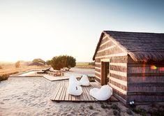 Portugal is one of the best destinations for a romantic post-wedding vacation. Here is our guide to planning a honeymoon in Comporta, Portugal Hotels In Portugal, Portugal Travel, Glamping, Top Honeymoon Destinations, Honeymoon Ideas, Sand Floor, Location Villa, Surf Shack, Beach Bungalows
