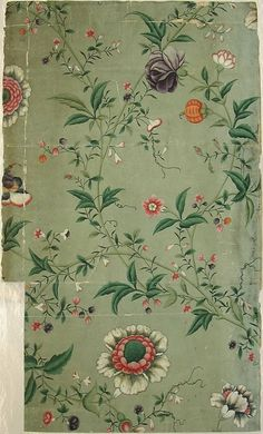 Bedroom vintage floral wallpapers 68 ideas for 2019 Look Wallpaper, Fabric Wallpaper, Pattern Wallpaper, Bedroom Wallpaper, Vintage Wallpaper Patterns, Wallpaper Ideas, Chinese Wallpaper, Vintage Style Wallpaper, Hand Painted Wallpaper
