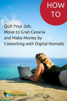 #Coworking in #GranCanaria