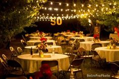 Make your 50th birthday party a golden celebration.  See more 50th birthday party themes and party ideas at www.one-stop-party-ideas.com