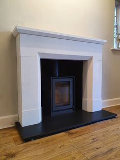 Natural Stone Installers On Instagram Lovely Honed Nero Marquina Fireplace Fitted With Granite Slips Fireplace Natural Stones Granite