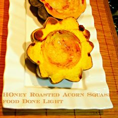 Honey Roasted Acorn Squash | Food Done Light