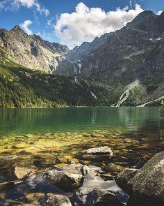 Não apresse o rio ele fluirá por si mesmo. - provérbio polonês Foto: Morskie Oko Monte Rates Polônia - por Robert Manuszewski