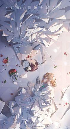 Violet Evergarden Wallpaper, Look Wallpaper, Aesthetic Header, Aesthetic Anime, Violet Evergreen, Violet Garden, Violet Evergarden Anime, Kyoto Animation, Estilo Anime