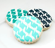 4004e8c2083c9524955d13a7409ba1de--cookie-tutorials-houndstooth.jpg (736×641)