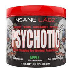 Insane Labz Psychotic Infused Preworkout Powerhouse, Grape, 35 Servings - The biggest Health and Beauty Products screw ups of all time