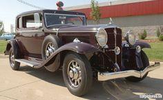1932 Studebaker St. Regis Brougham