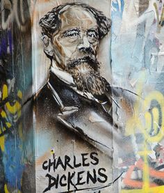 Literary Graffiti Charles Dickens, London – The Frisky