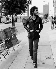 Bruce Springsteen on The Sunset Strip, LA, 1975