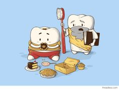 My Sweet Tooth Never Listens To My Wisdom Tooth! Awesome Dental Humor from #PlazaDentalGroup #Dentist http://blog.dmsmiles.com/brushing-teeth-learn-best-ways/