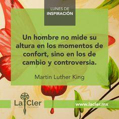Facebook: https://www.facebook.com/lacler.mx/ | #arte #frases #quotes #lunes #inspiración #cambio #mandela #nelsonmandela