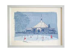 Image of Central Park Sketchbook: The Conservatory Water