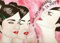 MICROREFLEXIONES ILUSTRADAS | Lola Kabuki  #love #art #watercolor #paintings #illustration