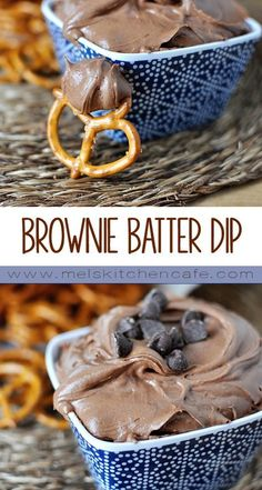 to whip together, this Brownie Batter Dip is perfect on anything from pretzels to strawberries, animal crackers to apples.Seconds to whip together, this Brownie Batter Dip is perfect on anything from pretzels to strawberries, animal crackers to apples. Dessert Dips, Bon Dessert, Dessert Recipes, Cake Recipes, Bacon Recipes, Meatball Recipes, Animal Crackers, Animal Cracker Dip, Think Food