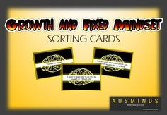 A set of 27 dynamic and engaging sorting cards featuring growth and fixed mindset statements. Students can play games with the cards, sort them into growth or fixed statements or use them as role-play ideas.An excellent resource to assist your students in developing an understanding of growth and fixed mindsets.