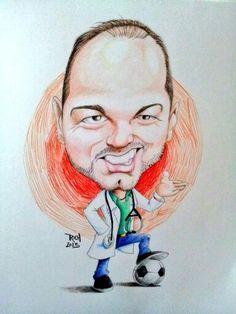 Luis García #caricatura #doctor #futbol #padrote #azteca