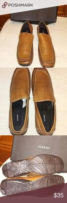 NWB ALFANI FORMULACO 13M NWB ALFANI FORMULACO 13M COGNAC Alfani Shoes Loafers & Slip-Ons
