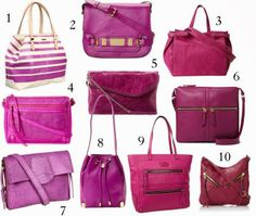 10 Radiant Orchid Purse Picks! | Sweetie Pie Style - DailyBuzz Style