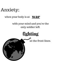 What anxiety and panic attacks actually feel like. inspire quote for anxiety Mantras For Anxiety, Anxiety Quotes, Overcoming Anxiety, What Anxiety Feels Like, Inner Child Healing, Anxiety Panic Attacks, Like Quotes, Coping Mechanisms, Anxiety Relief