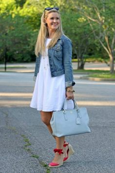 cute white dress perfect for summer