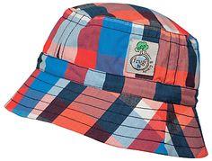 Frugi Organic Children's Dexter Check Print Hat, Multi