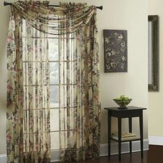 Walmart Curtains And Valances Discount Curtains