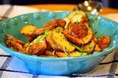 Roasted Tater Rounds with Green Onions & Tarragon Recipe - MasterCook