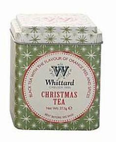 WHITTARD of Chelsea CHRISTMAS TEA TIN