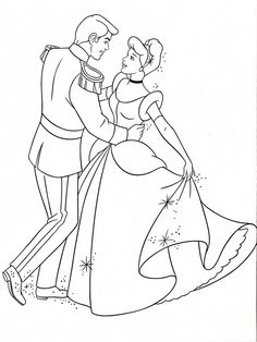free cinderella printable coloring pages (plus many more themes ...