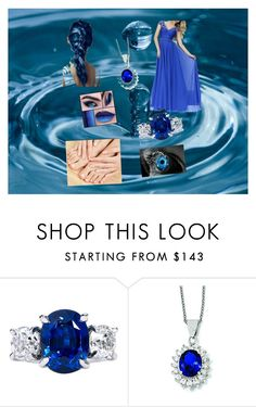 """elements part 1:water"" by winternightfrostbite ❤ liked on Polyvore featuring Kevin Jewelers"
