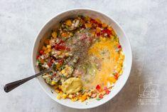 Kotleciki drobiowe z warzywami dla dzieci i dorosłych - przepis krok po kroku Chilli, Tzatziki, Oatmeal, Food And Drink, Breakfast, Kitchen, The Oatmeal, Morning Coffee, Cooking