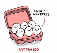 Rotten Egg <3 | Gemma Correll