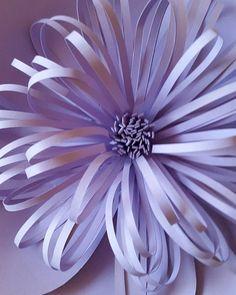 Paper Flower Center Cut SVG-Dateien  Loppy & von PoshPaperDesignss