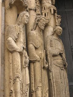 Chartres Cathedral: Sculptures