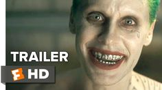 Suicide Squad Comic-Con Trailer (2016) - Jared Leto, Will Smith Movie HD OH MY GOD LOOK AT JOKER'S FACE :3