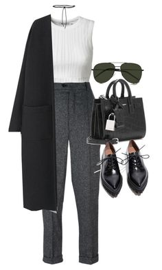"""Sem título #1374"" by oh-its-anna ❤ liked on Polyvore featuring T By Alexander Wang, Isabel Marant, Aamaya by Priyanka, Yves Saint Laurent, MANGO and Jeffrey Campbell"