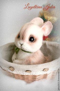 Toy animals, handmade. Fair Masters - handmade bunny Stesha :) good girl. Handmade.