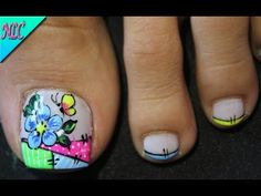 Merry Christmas Gif, Summer Toe Nails, Butterfly Nail, Nail Art, Pedicures, Tattoos, Beauty, Turquoise, Color