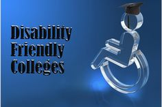 Disability Friendly College: Great resource students with physical disabilities as they plan the college transition. Includes an interactive guide to campuses.
